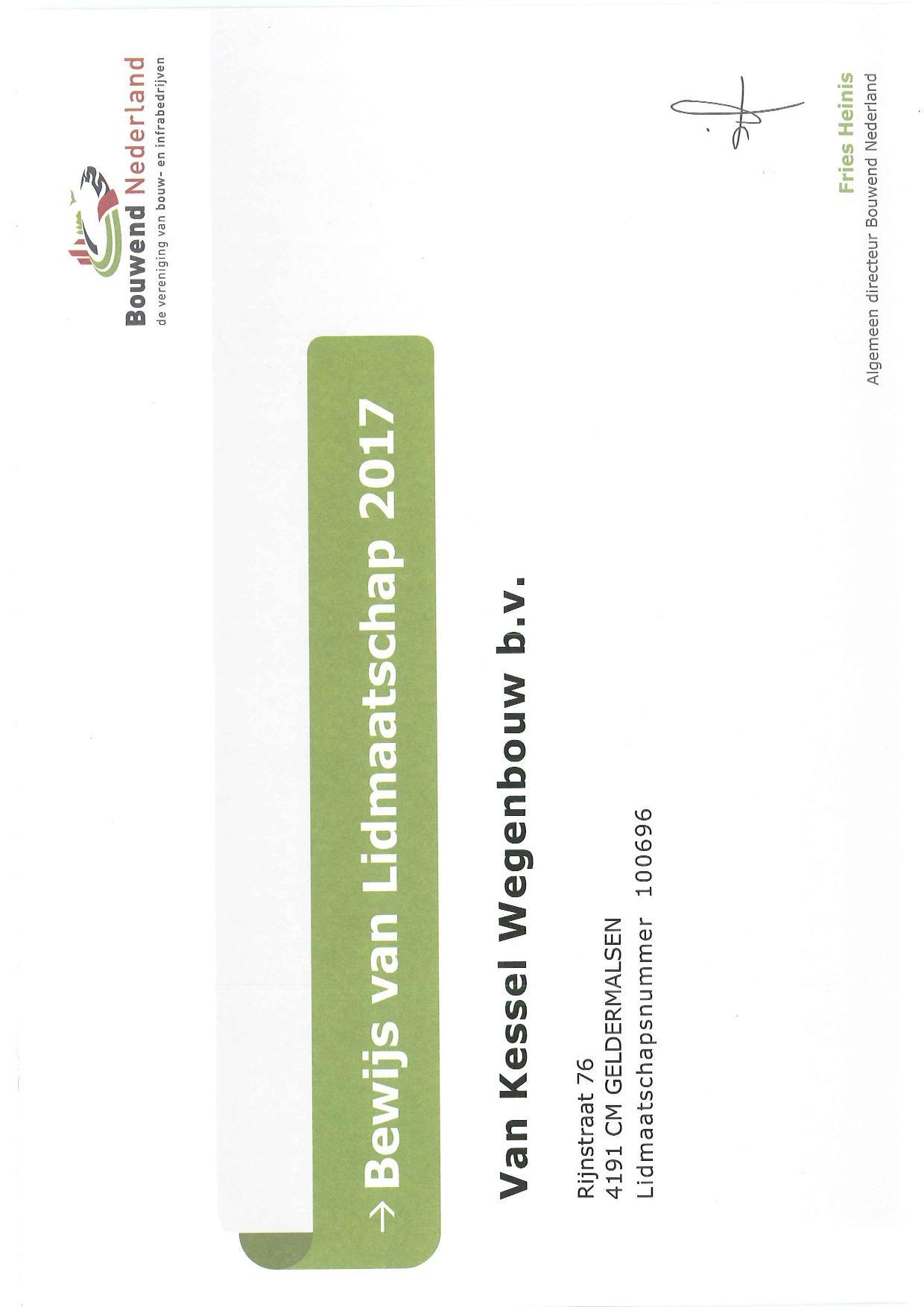 Certificering en verklaringen