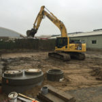 Greefa Wegenbouw Graafmachine